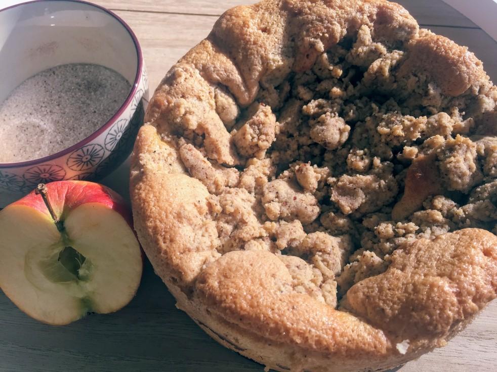 Sonntagskaffee Mit Apfel Streusel Kuchen Cake N Dodo